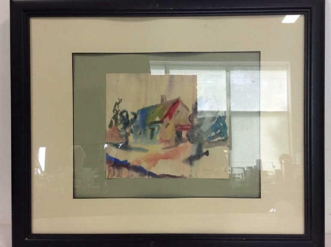 CORASICK Professionally Framed Artwork - 2