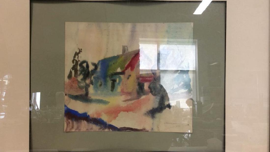 CORASICK Professionally Framed Artwork - 4