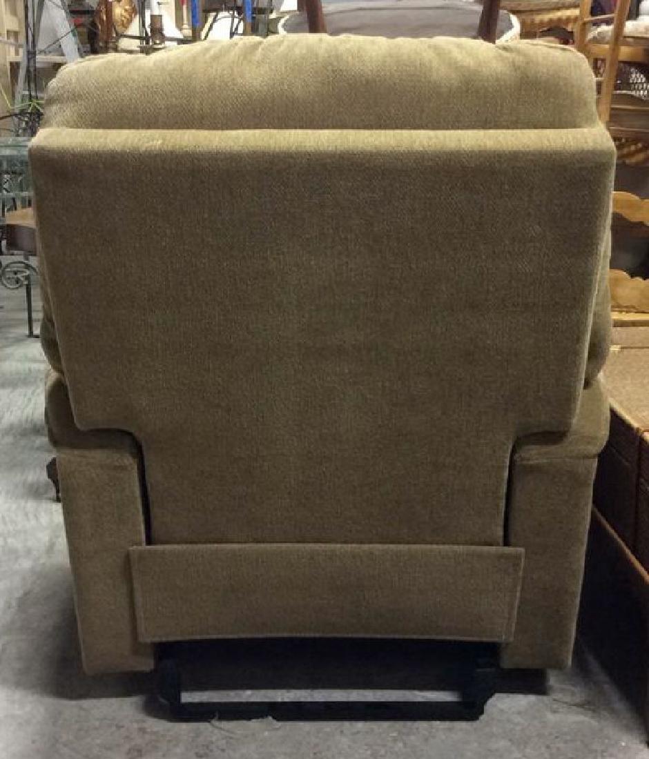 LA Z BOY Light Brown Toned Reclining Chair - 5