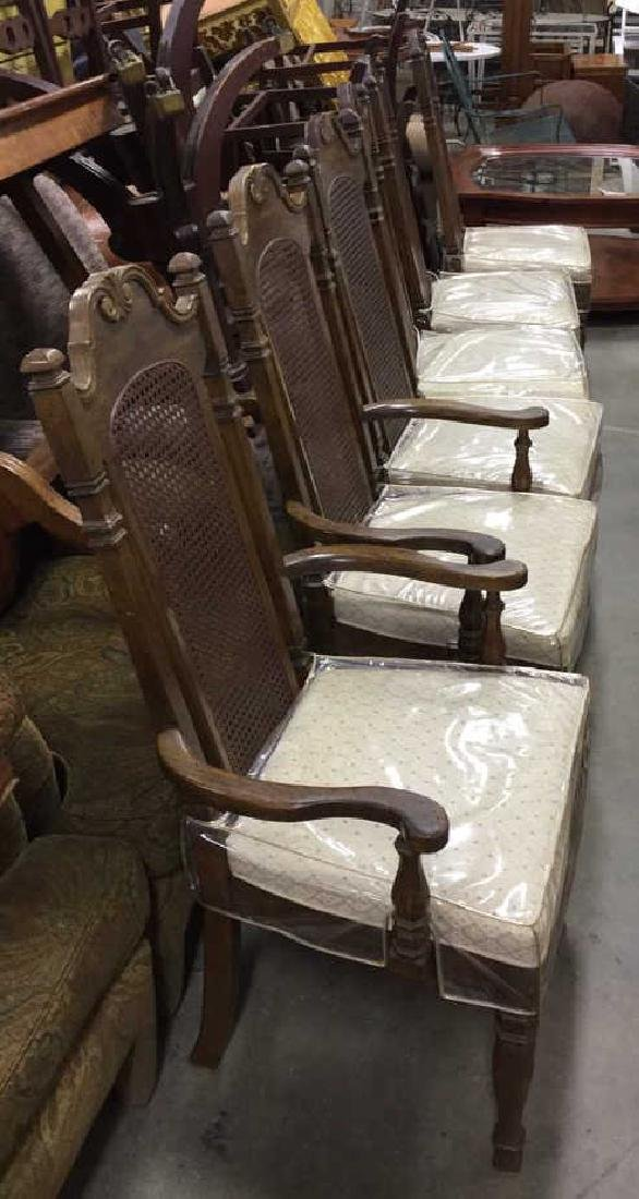 Set 6 Vintage Dining Chairs
