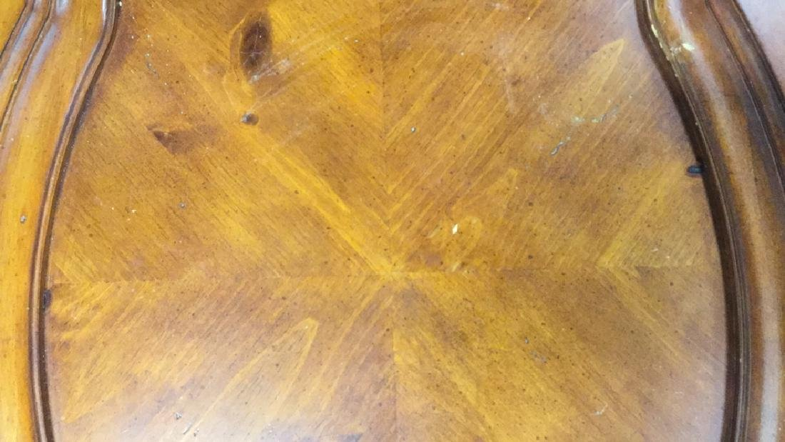 Pair Matching Wood End TablesSide Tables - 3