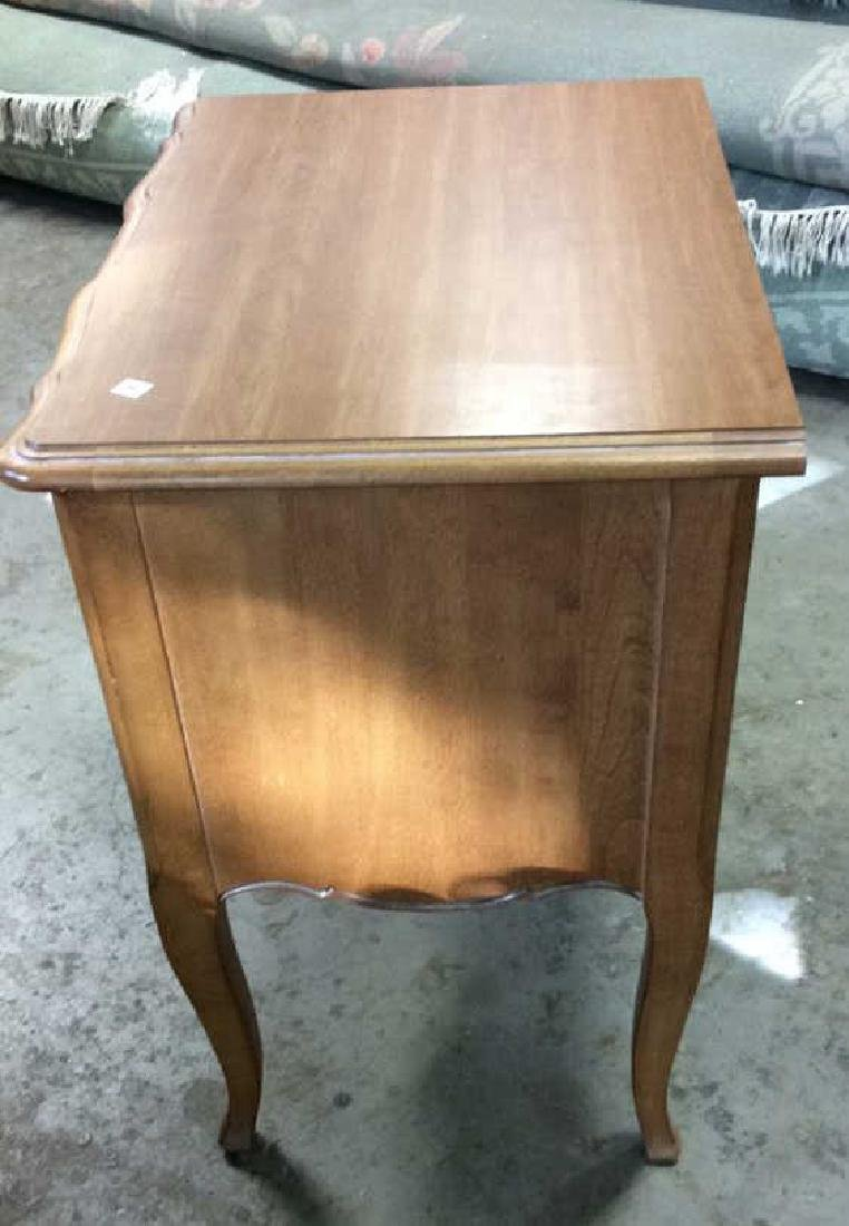 Ethan Allen Wood Side Table - 8