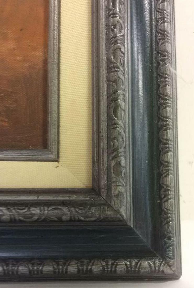 S HOFNER Framed Acrylic Floral on Canvas - 7