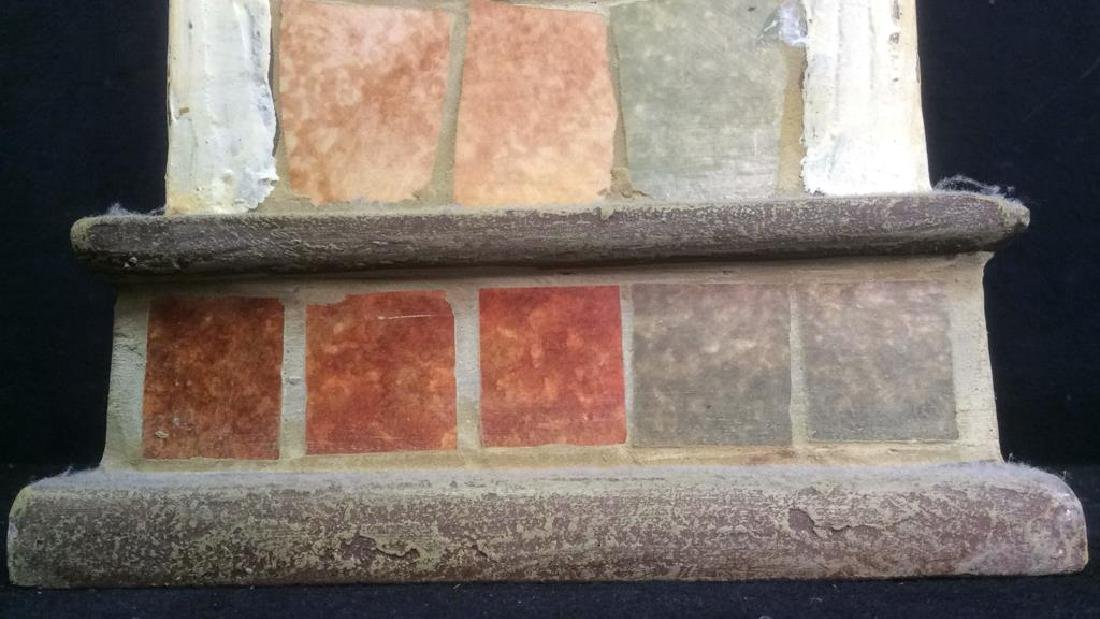 Ceramic Stone Schoolhouse Style Birdhouse - 7