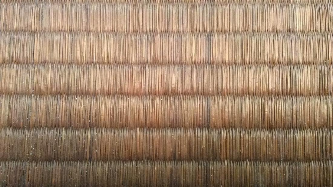 Handled Woven Wooden & Wicker - 4