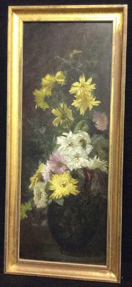 Original Vintage Oil Painting on Board Still Life