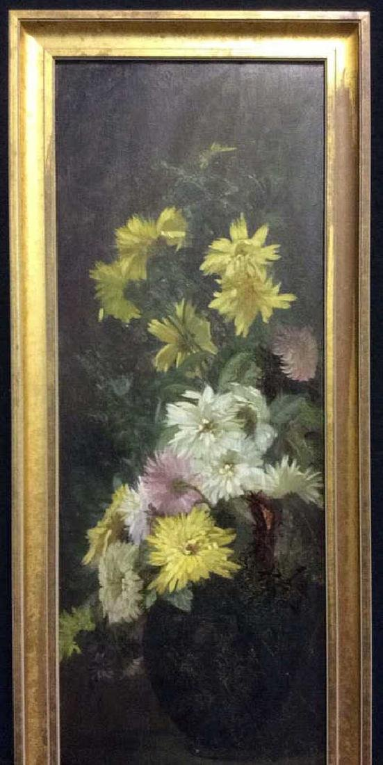 Original Vintage Oil Painting on Board Still Life - 2