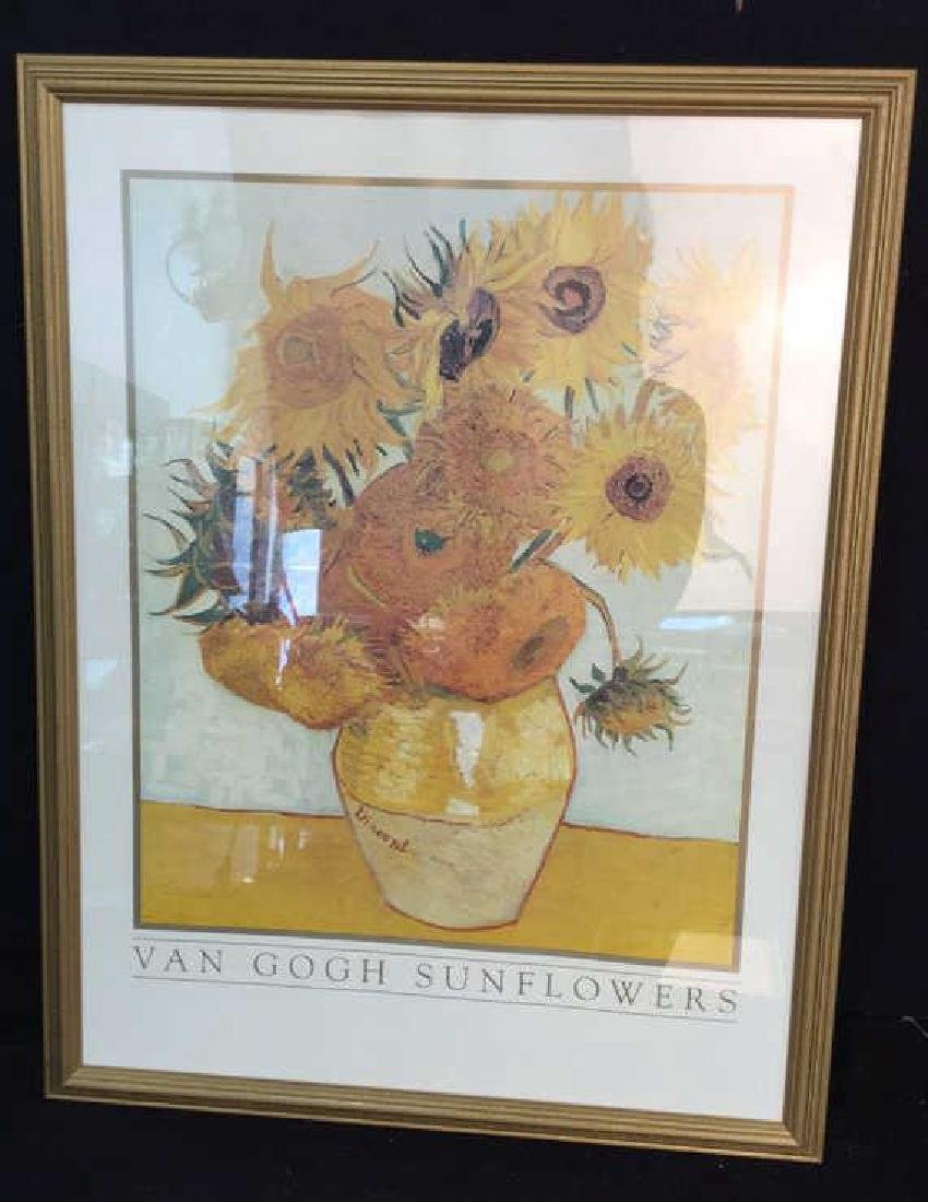 Framed Print VAN GOGH Sunflowers
