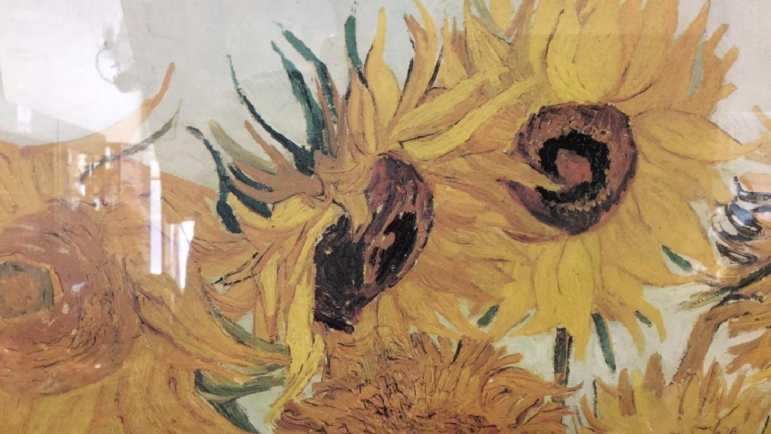 Framed Print VAN GOGH Sunflowers - 3