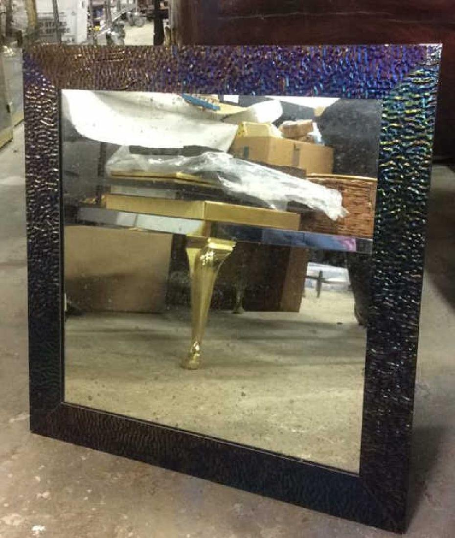 Contemporary Metal Framed Mirror - 3