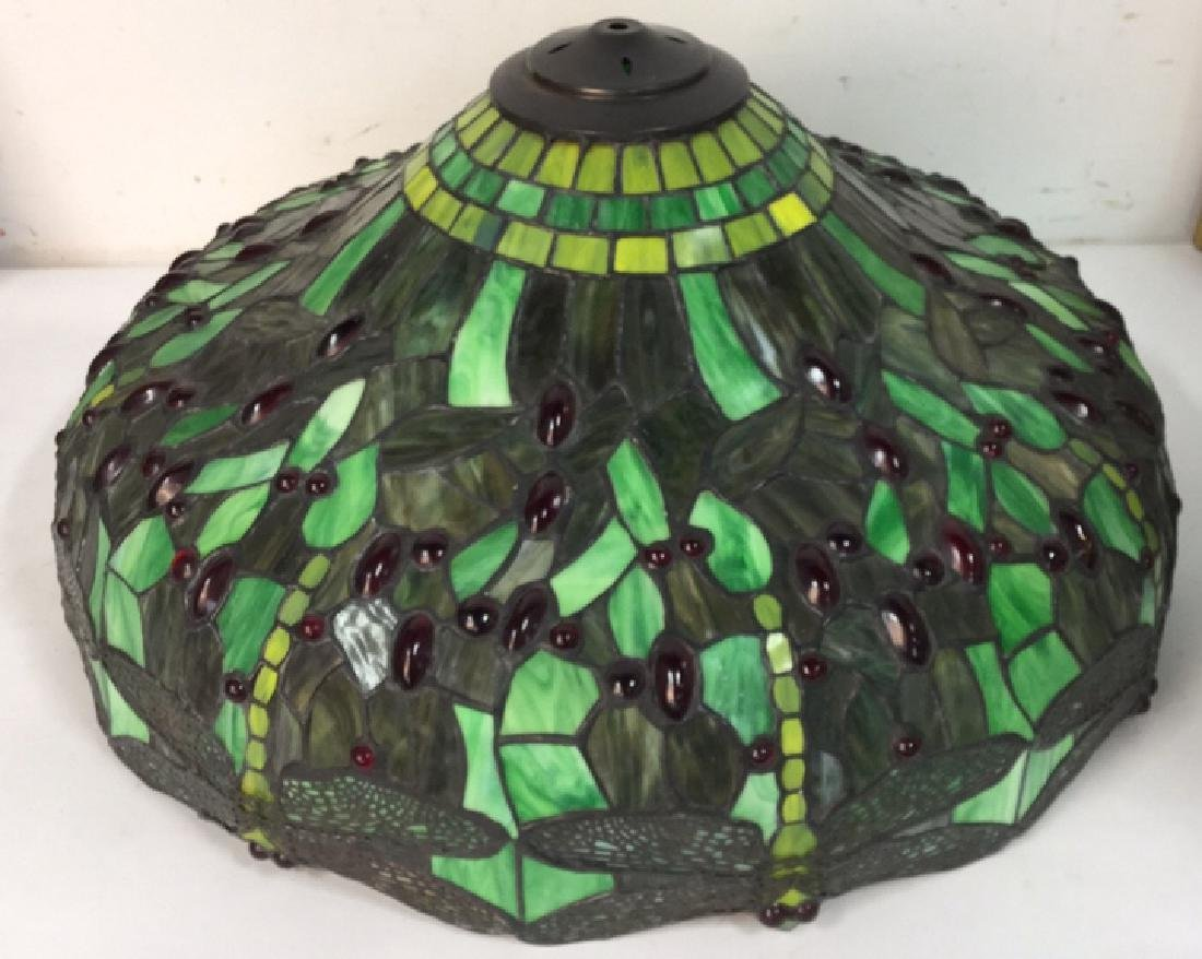 Tiffany Style Floor Lamp Slag Glass