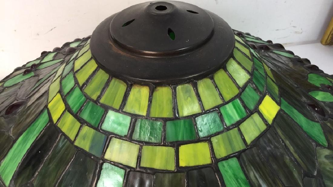 Tiffany Style Floor Lamp Slag Glass - 3