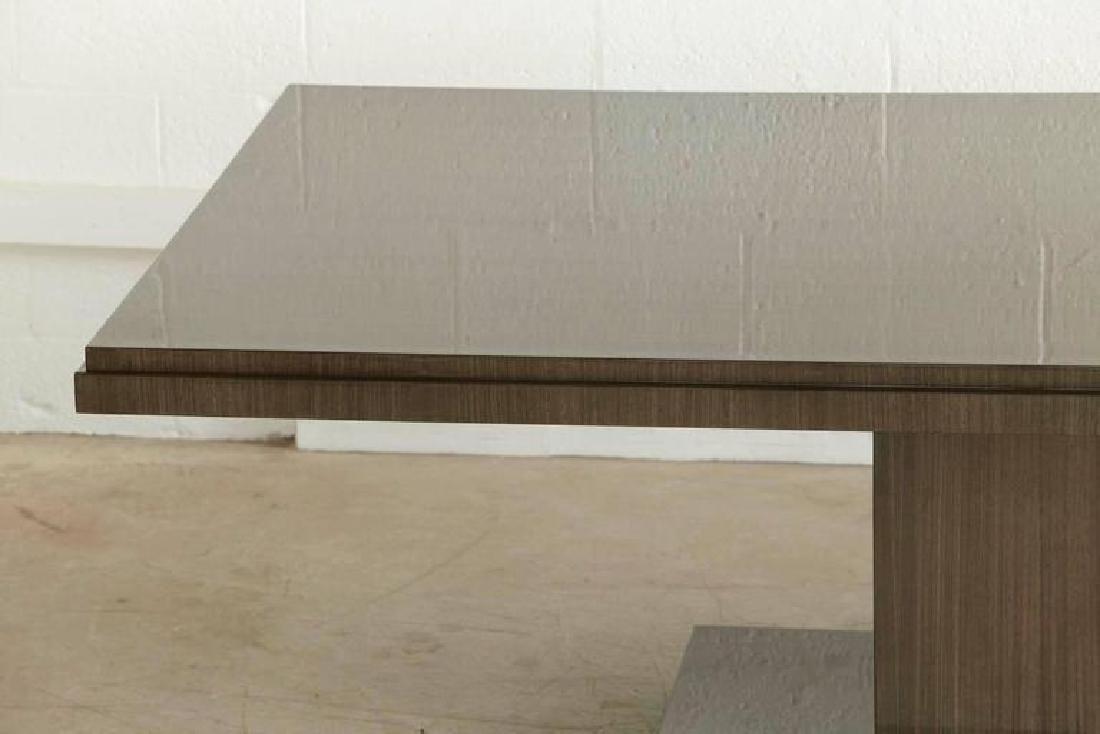 Custom-Made Dining Table Japanese Tay Koto Veneer - 3