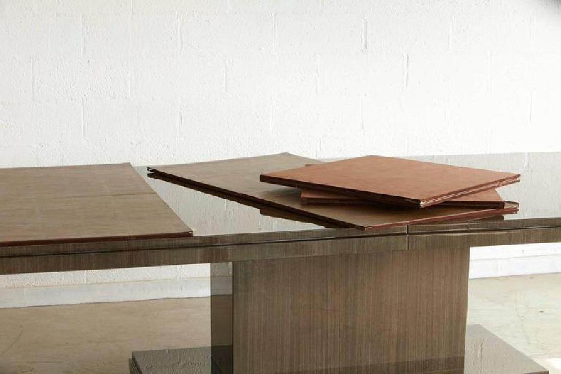 Custom-Made Dining Table Japanese Tay Koto Veneer - 7