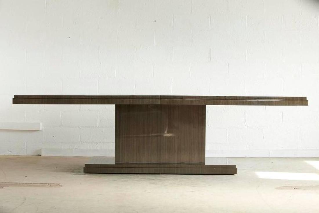 Custom-Made Dining Table Japanese Tay Koto Veneer - 9