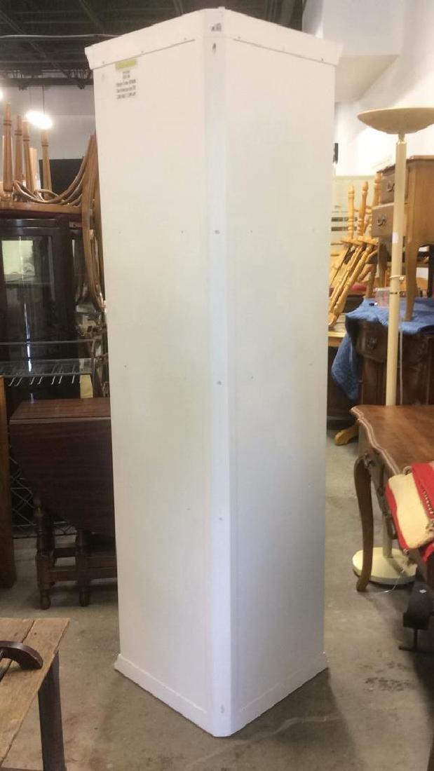 BALLARD DESIGNS White Toned Corner Display Cabinet - 3