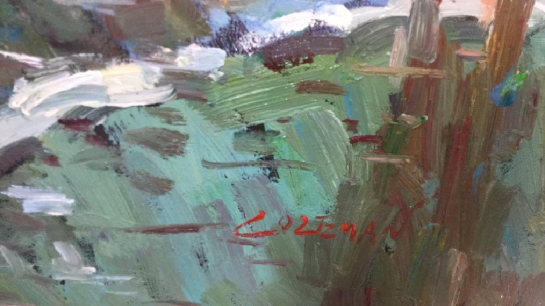 Impressionist Oil Sea Shore Painting On Canvas - 5
