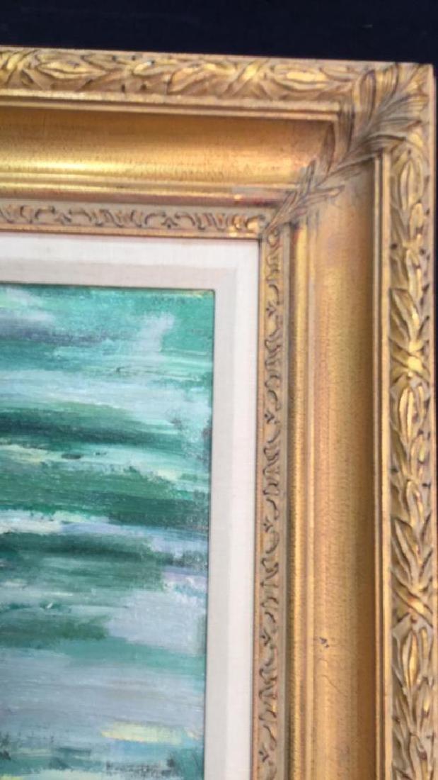 Impressionist Oil Sea Shore Painting On Canvas - 8