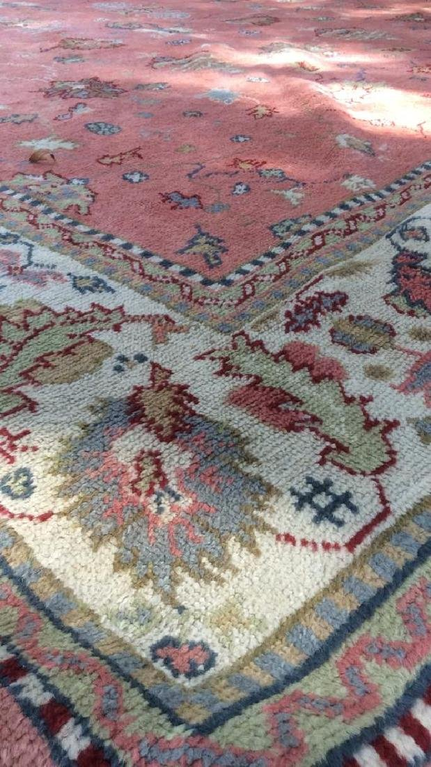 Hand Made Turkish Ouchak Carpet Circa 1940