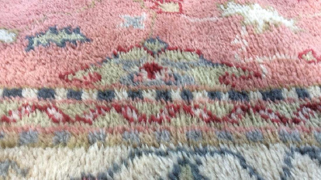 Hand Made Turkish Ouchak Carpet Circa 1940 - 2