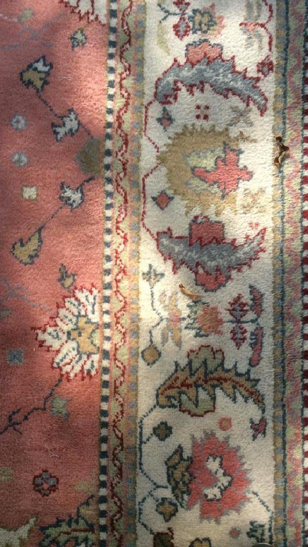 Hand Made Turkish Ouchak Carpet Circa 1940 - 3