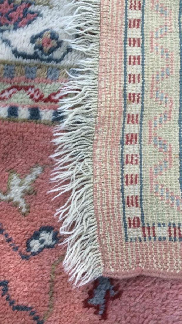 Hand Made Turkish Ouchak Carpet Circa 1940 - 7