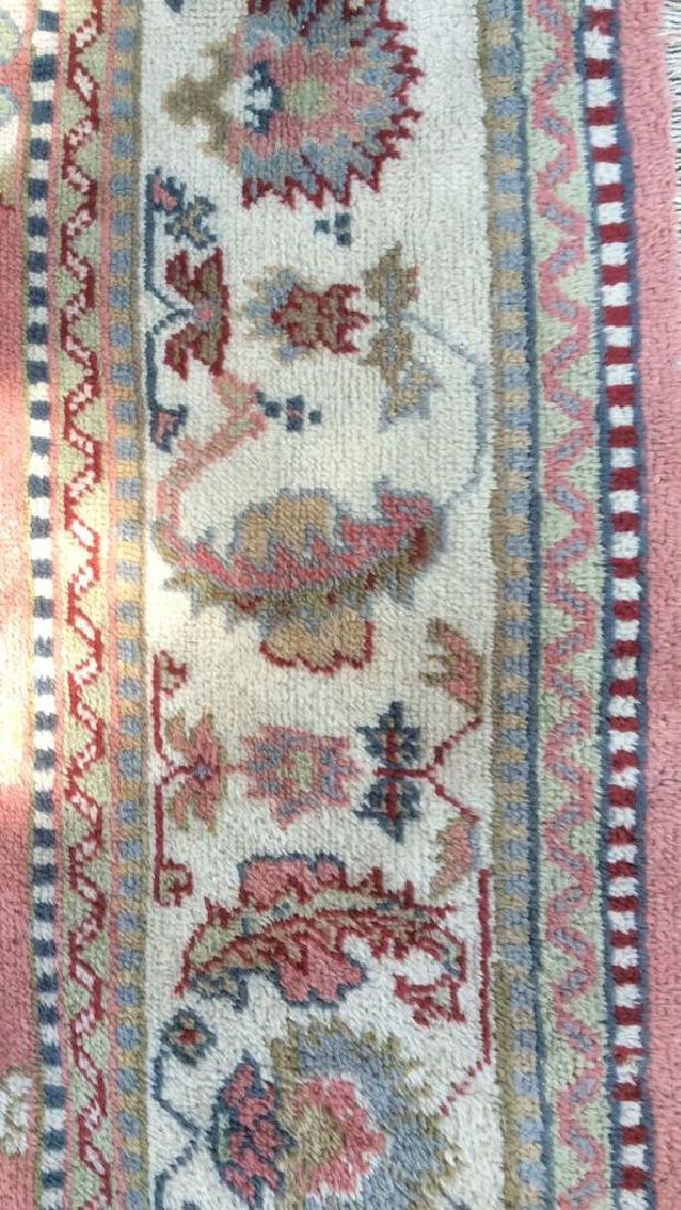 Hand Made Turkish Ouchak Carpet Circa 1940 - 8