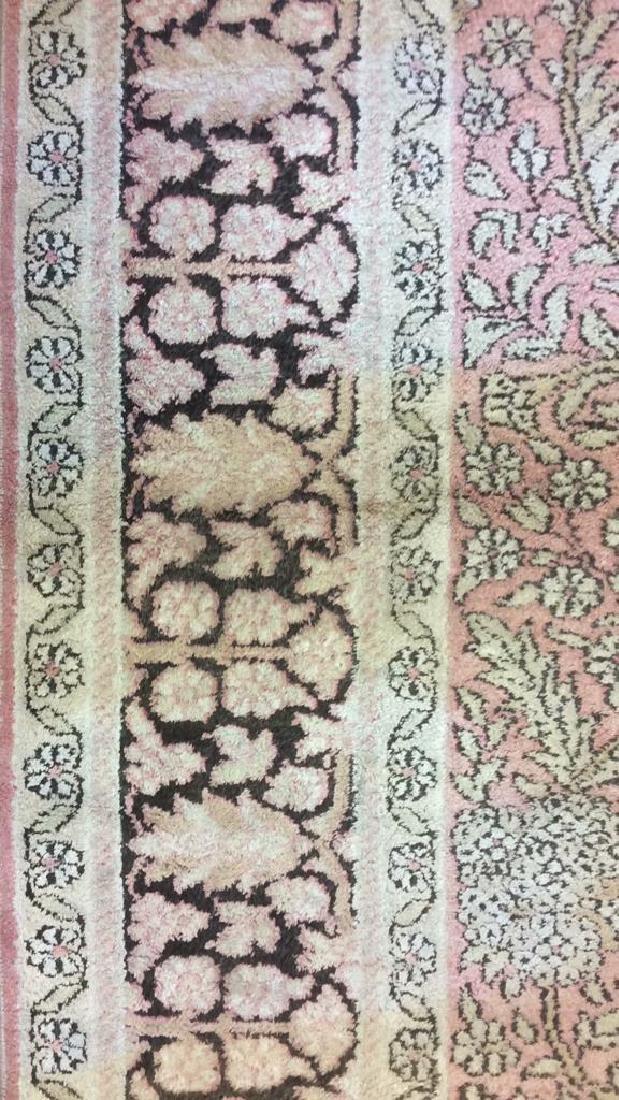 Silk Oriental Carpet Rug India - 3