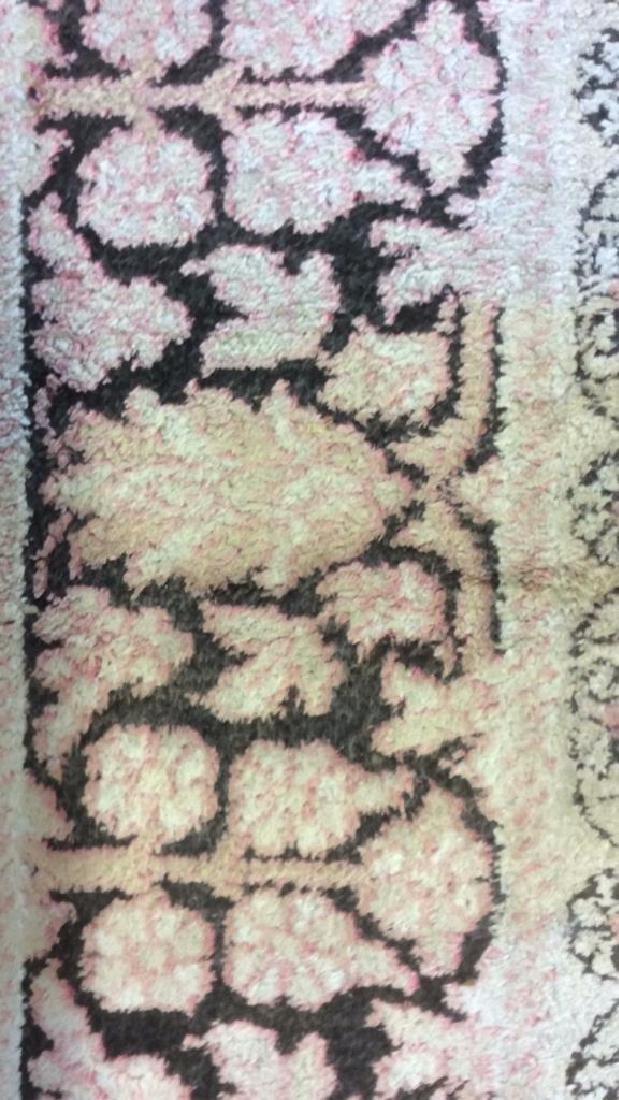 Silk Oriental Carpet Rug India - 4