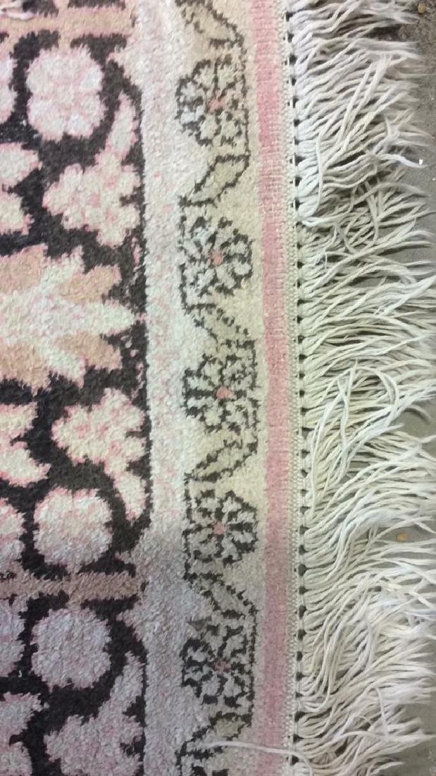 Silk Oriental Carpet Rug India - 5