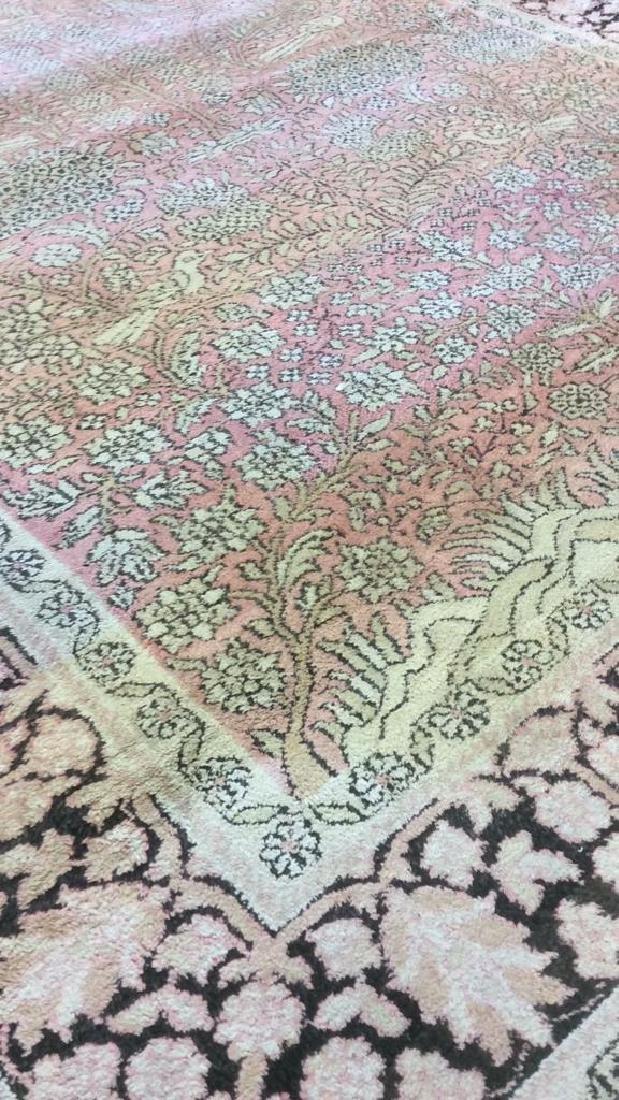 Silk Oriental Carpet Rug India - 6