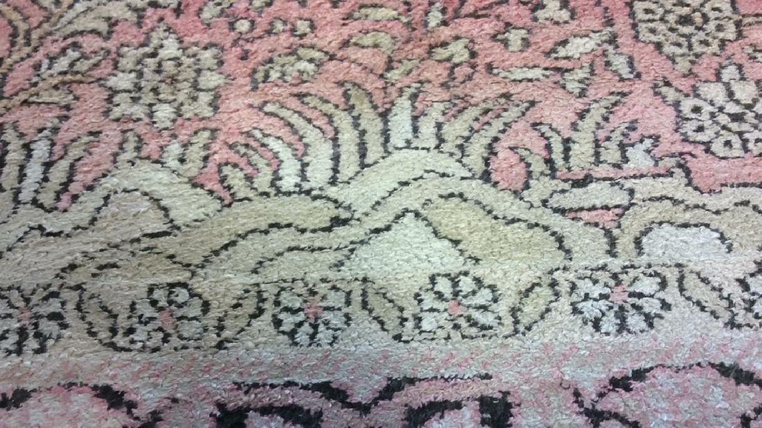 Silk Oriental Carpet Rug India - 7