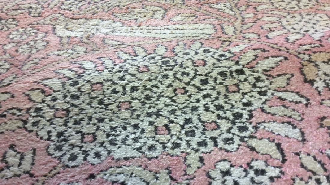 Silk Oriental Carpet Rug India - 8