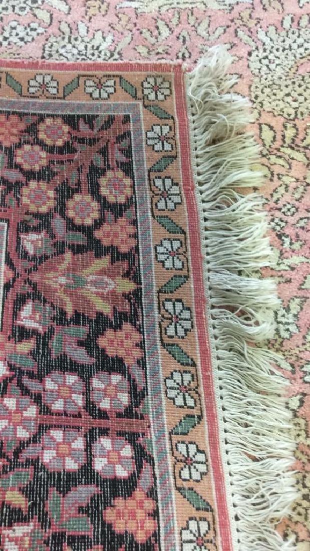 Silk Oriental Carpet Rug India - 9