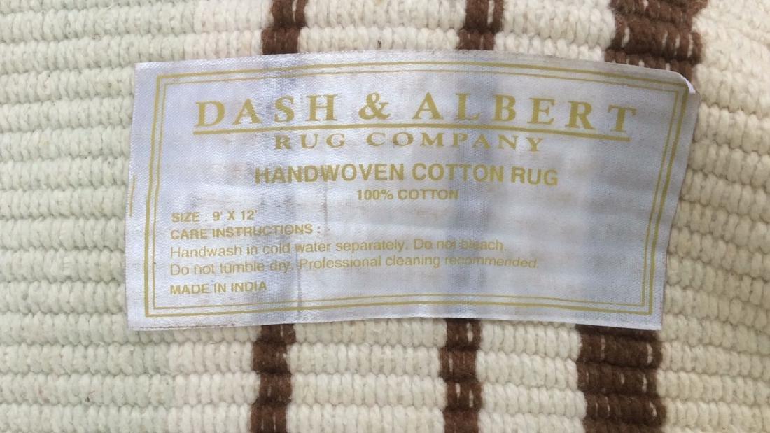 Handwoven Cotton Rug DASH & ALBERT - 6