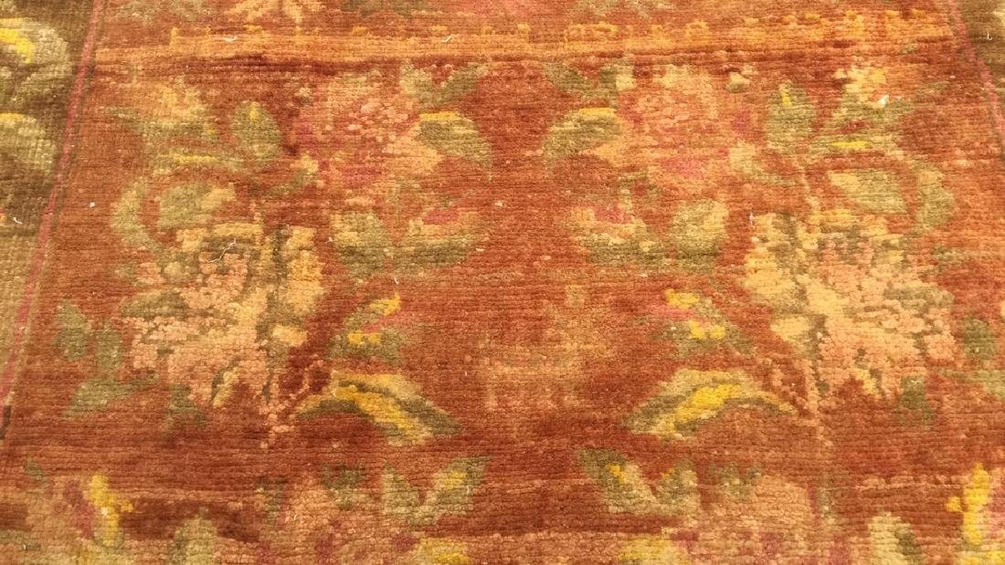 Vintage Handmade Persian Wool Carpet