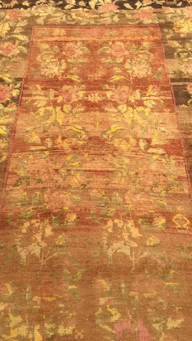 Vintage Handmade Persian Wool Carpet - 2