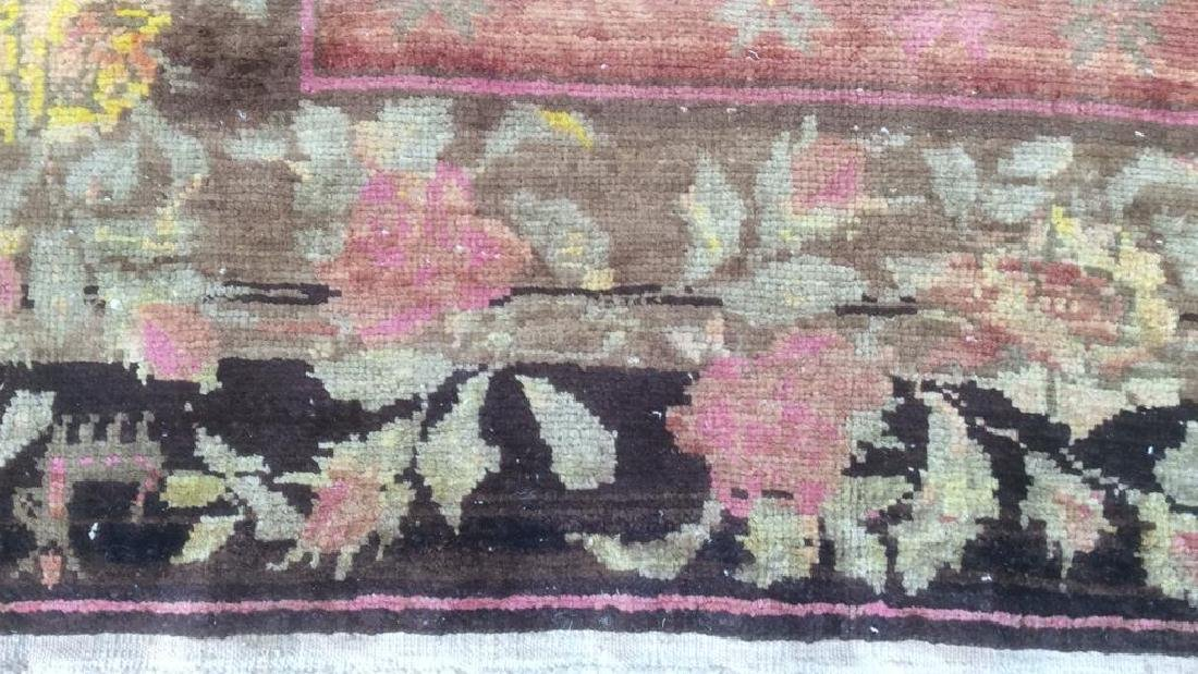Vintage Handmade Persian Wool Carpet - 5