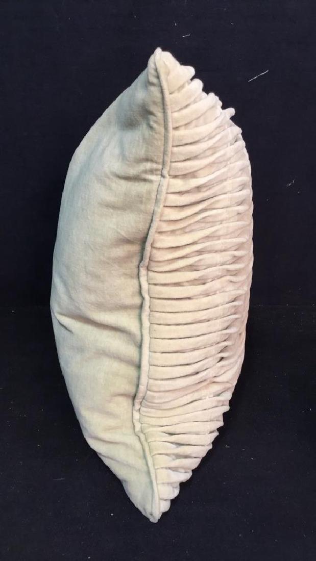 Pair Covered Down Throw Pillows - 3