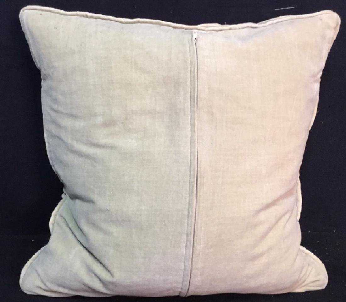 Pair Covered Down Throw Pillows - 4