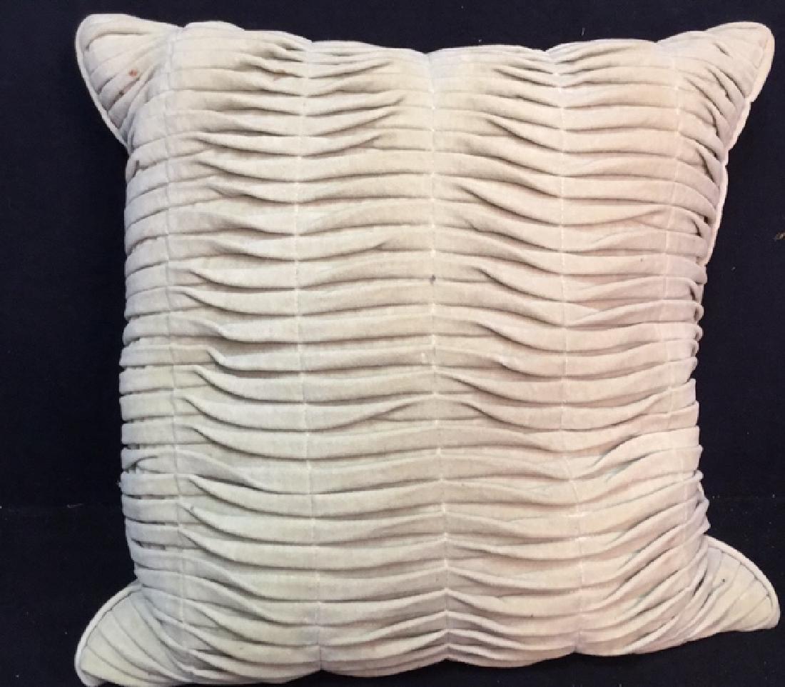 Pair Covered Down Throw Pillows - 6