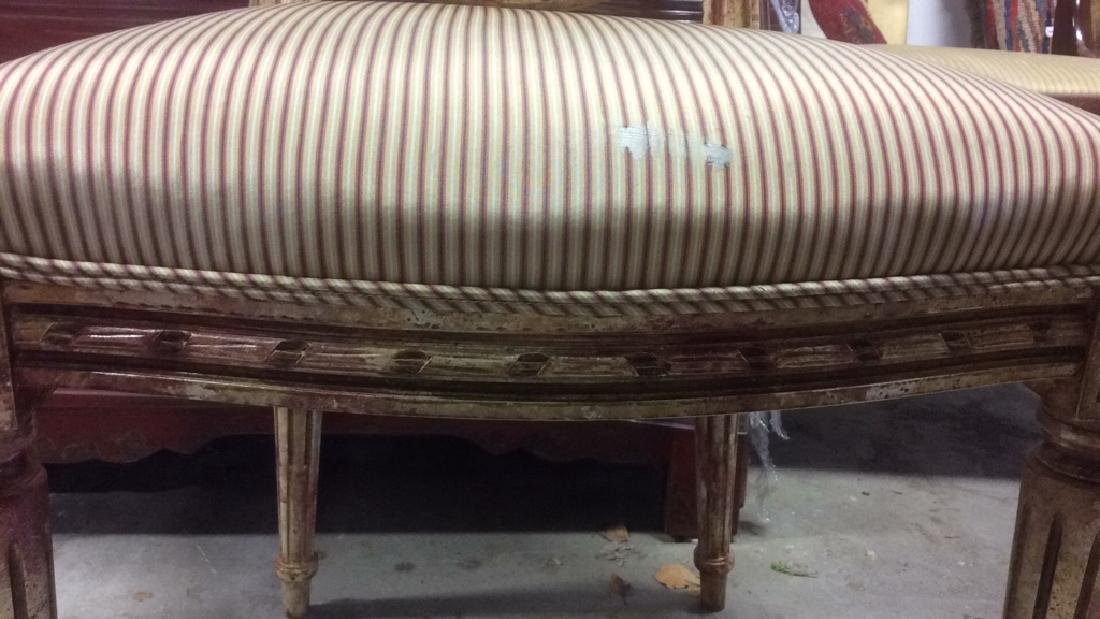Faux Painted French Side Chair - 10