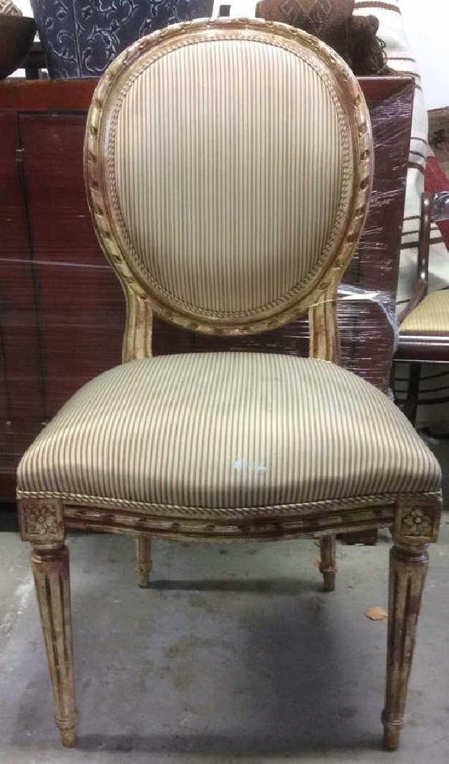 Faux Painted French Side Chair
