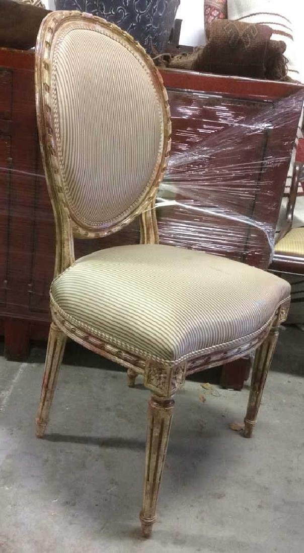 Faux Painted French Side Chair - 2