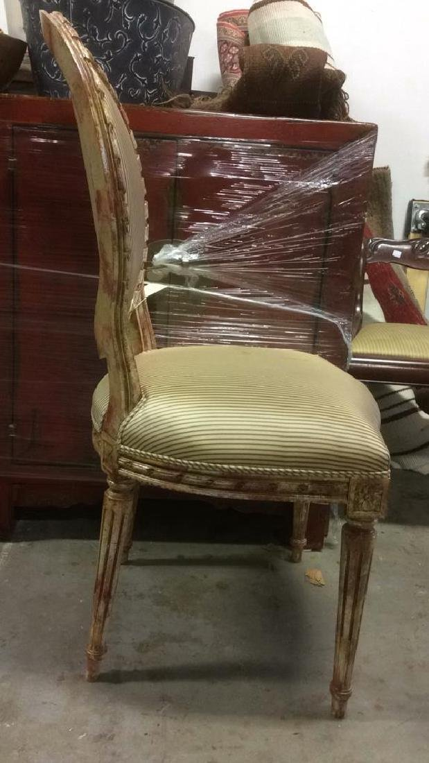Faux Painted French Side Chair - 3