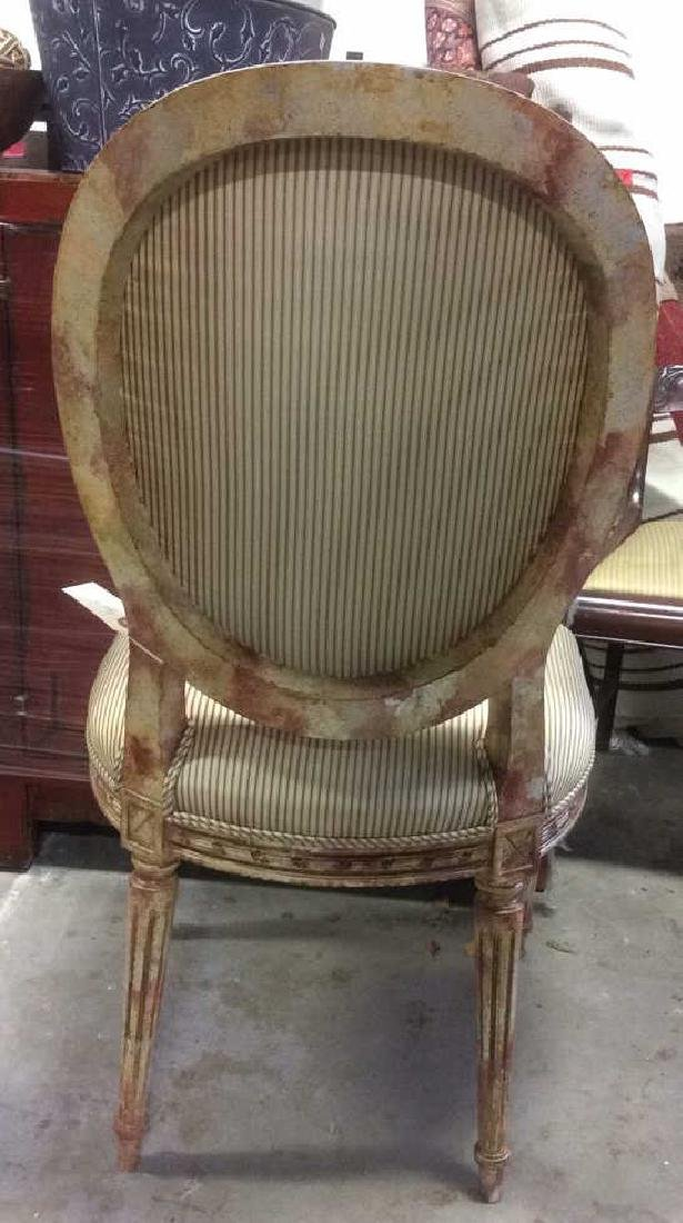 Faux Painted French Side Chair - 4