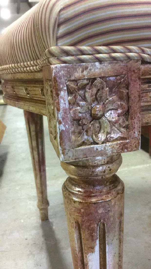 Faux Painted French Side Chair - 8