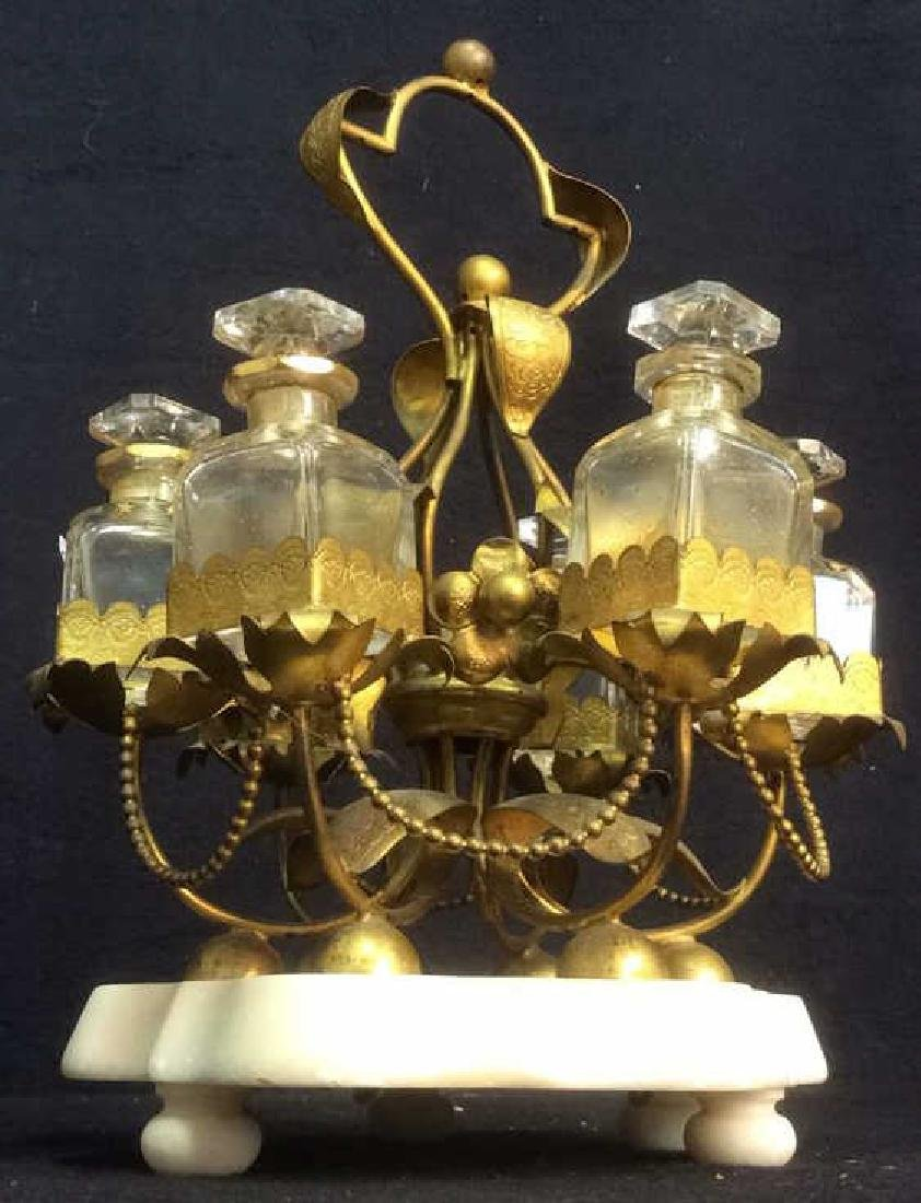 Merry Go Round Perfume Bottle Carousel