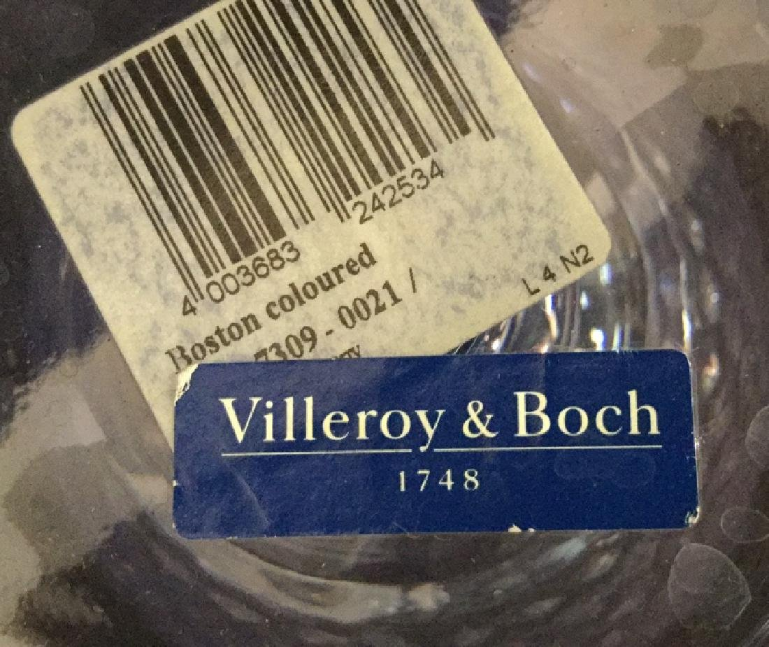 VILLEROY BOSCH 10 Water Wine Goblets Coasters - 10