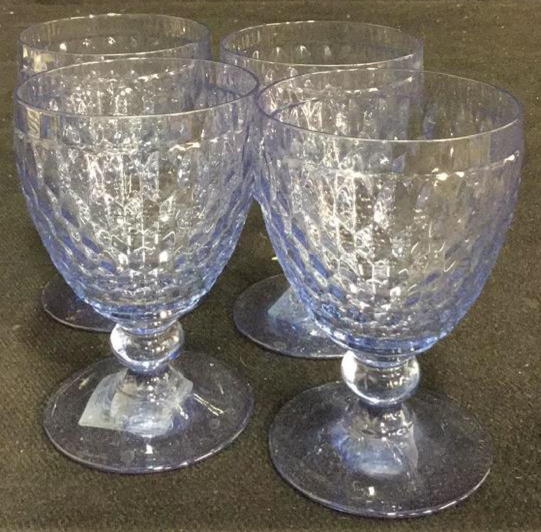 VILLEROY BOSCH 10 Water Wine Goblets Coasters - 4